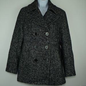 Womens KENNETH COLE REACTION Pea Coat Size Small